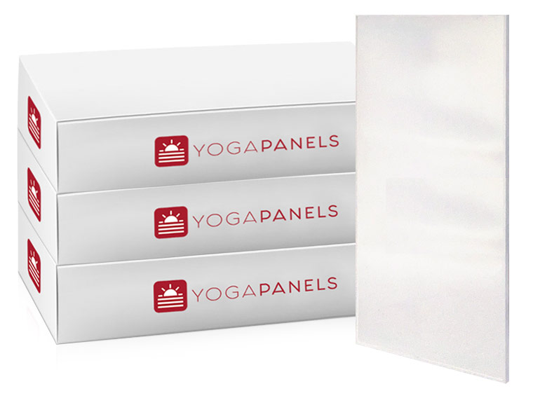 Yoga Panels Modern White Studio Package