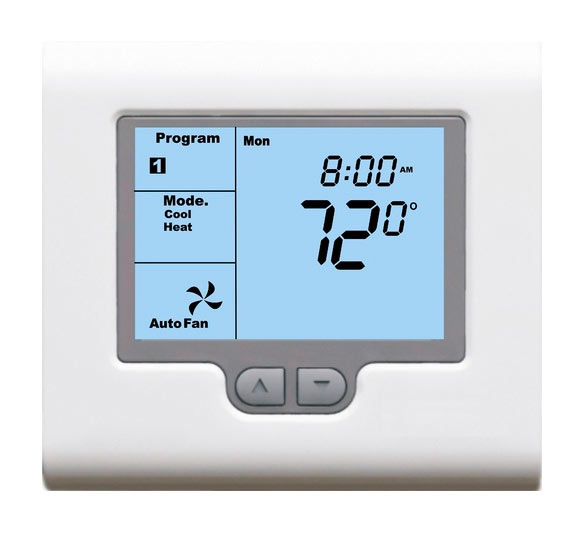 Programmable Thermostat Controls for Yoga Panels